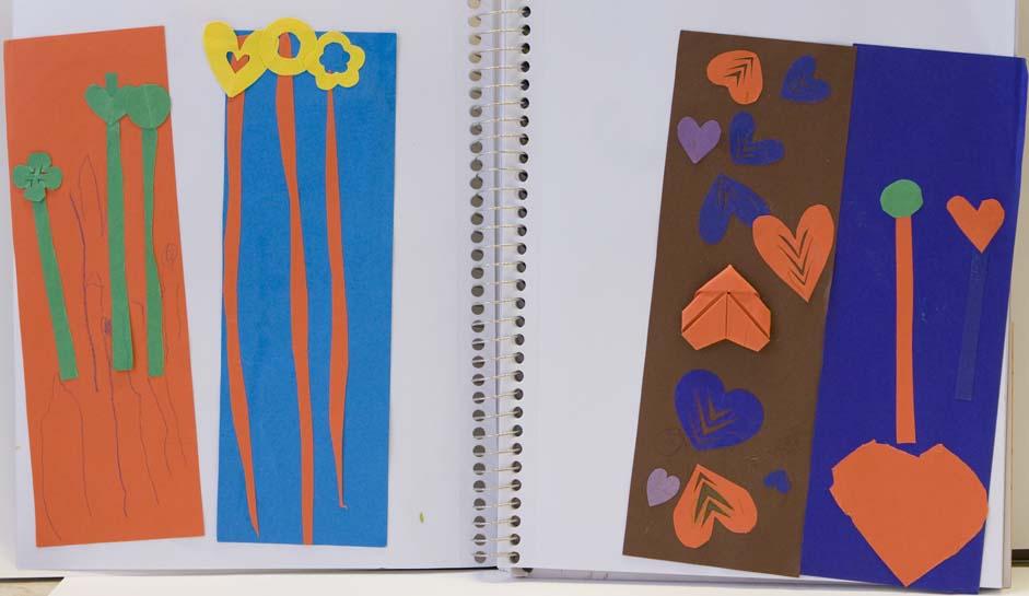 Vivian's 3-year old Art Works | Art Teaching